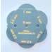 Щуп для измерения зазоров и перепадов 2,5 - 8,0 мм, 6 щупов, пластик.