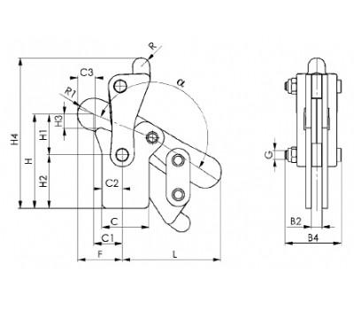 Модульное зажимное устройство 6810P (90811)