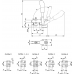 Вертикальное зажимное устройство 6800 (90043)