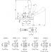 Вертикальное зажимное устройство 6800 (90050)