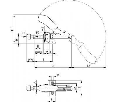 Шатунное зажимное устройство № 6841 (94110)